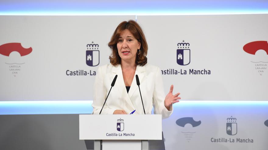 Blanca Fernández, portavoz JCCM