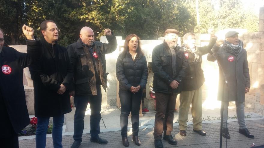 PSOE reivindica su trayectoria frente a la tumba de su fundador, Pablo Iglesias