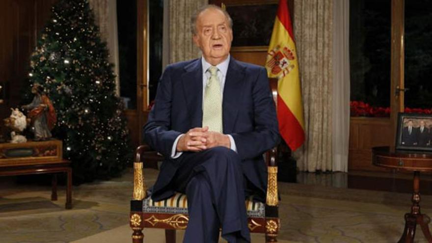 Aralar rechaza que la TV vasca emitiera el discurso del Rey