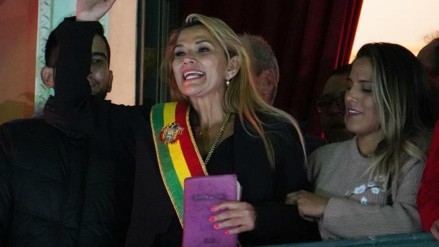Gobierno de México no reconoce a Jeanine Áñez como presidenta de Bolivia