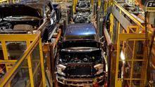 Fábrica de Ford en Kansas.