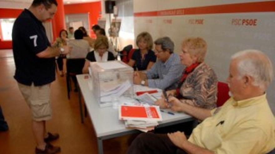 Normalidad en las primarias socialistas. (ACFI PRESS)