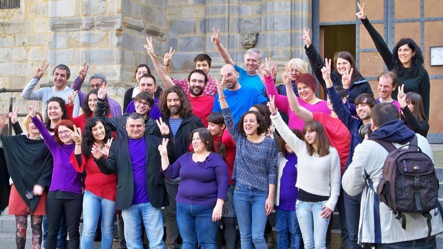 """Aurrera Begira presenta a Nagua Alba como candidata a dirigir Podemos Euskadi para """"traer el cambio"""""""