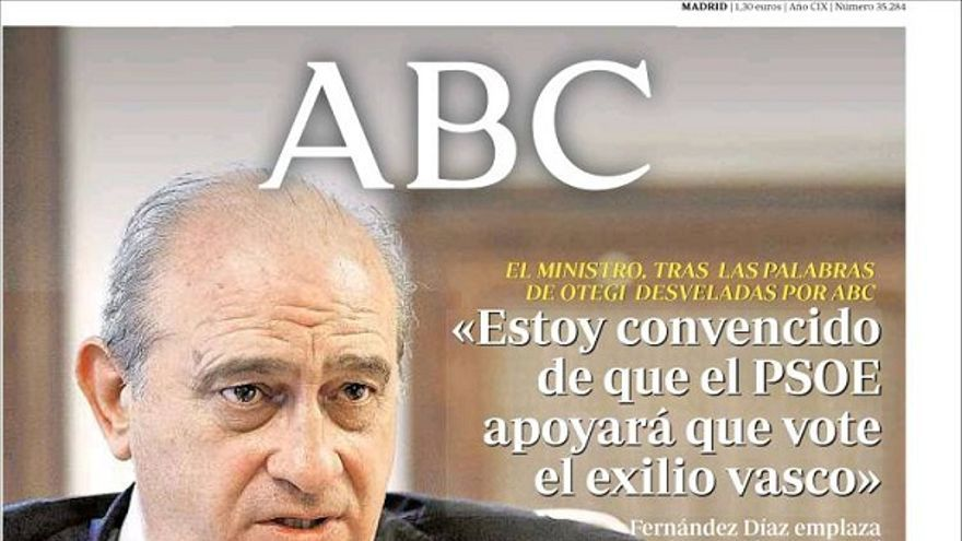 De las portadas del día (06/08/2012) #8
