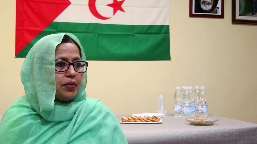 """La nueva representante del Polisario en España defiende para su pueblo """"la independencia total"""""""