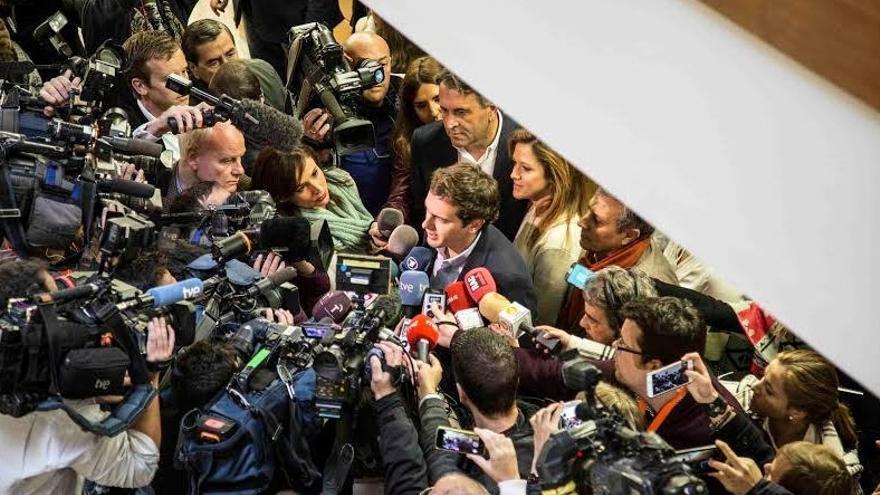 Rivera dice que aplicando el listón de Ciudadanos contra la corrupción, De Arítegui debería dimitir como embajador