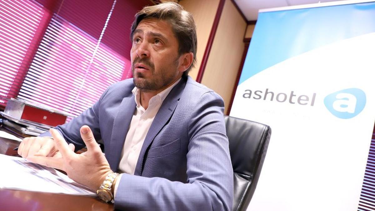 Jorge Marichal, presidente Ashotel.