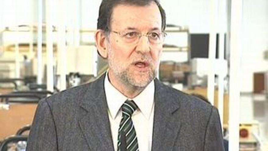 """Rajoy """"el PP quiere hablar y quiere consenso"""""""