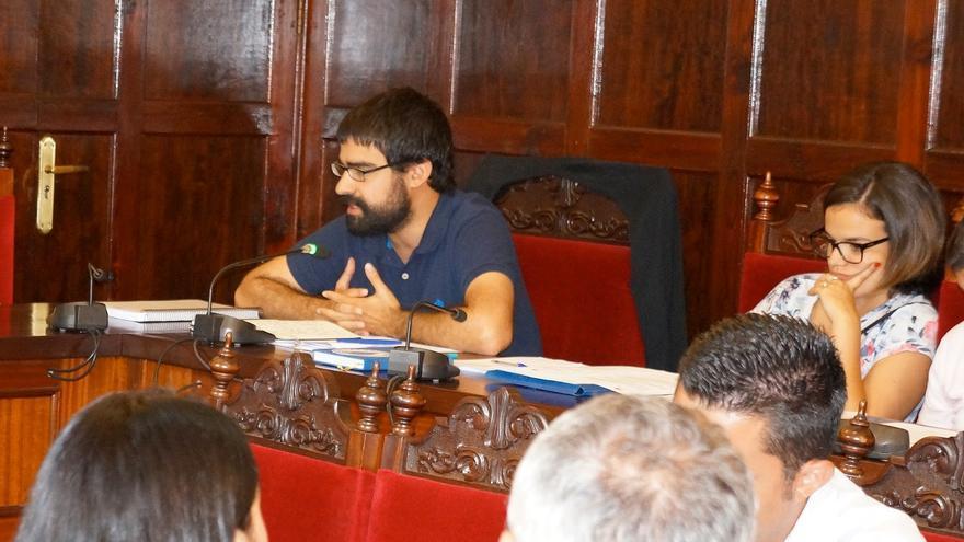 Felipe Ramos en concejal de IUC en Los Llanos de Aridane.