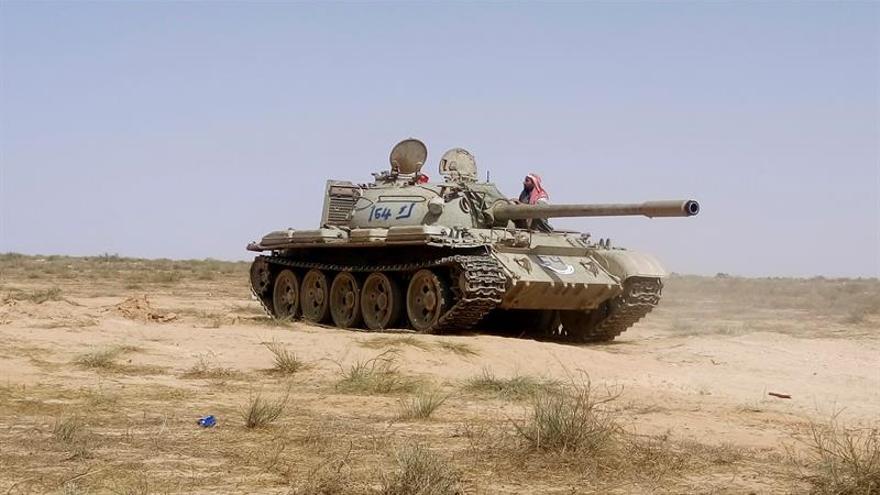Decenas de soldados libios mueren en combate cerca de la ciudad de Bengasi