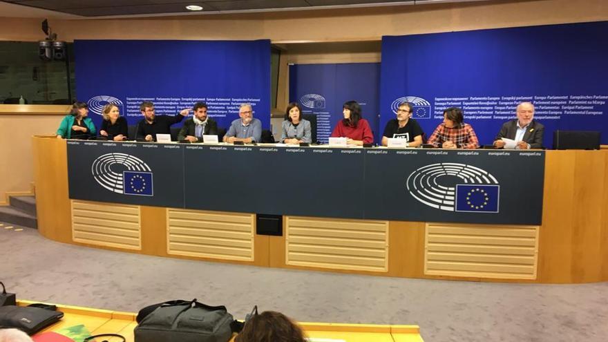 Imagen de la jornada desarrollada en el Parlamento Europeo