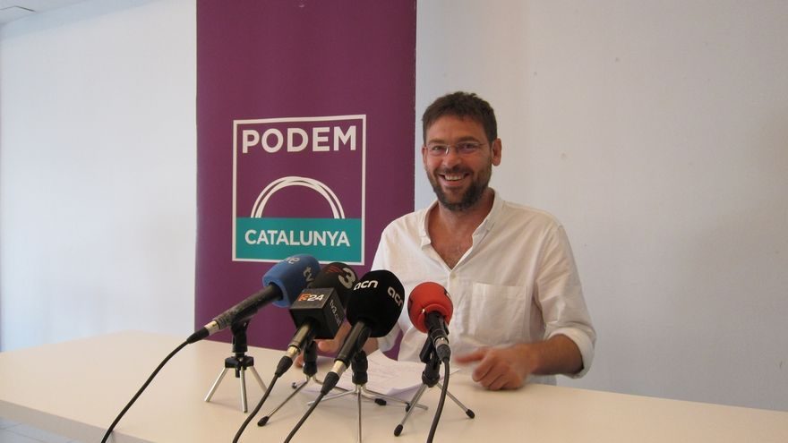 """Podem irá a la manifestación independentista para defender la """"pluralidad"""" de la Diada"""