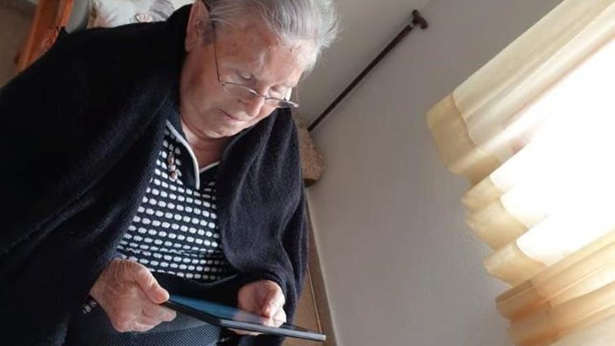 Las videollamadas se han convertido para muchas familias en una tabla de salvación estos días