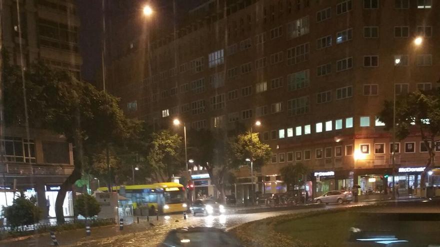Lluvia en Las Palmas de Gran Canaria.