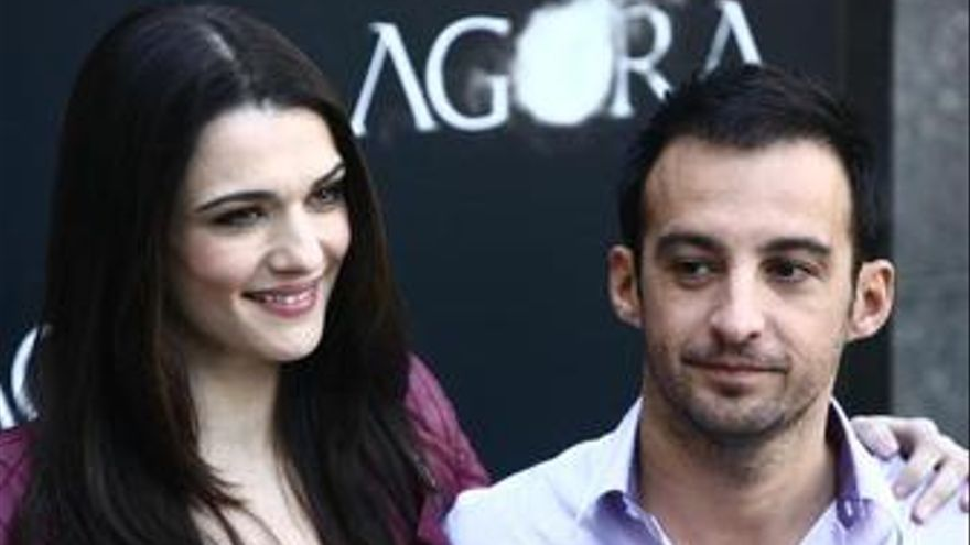 Rachel Weisz y Alejandro Amenábar presentan Agora