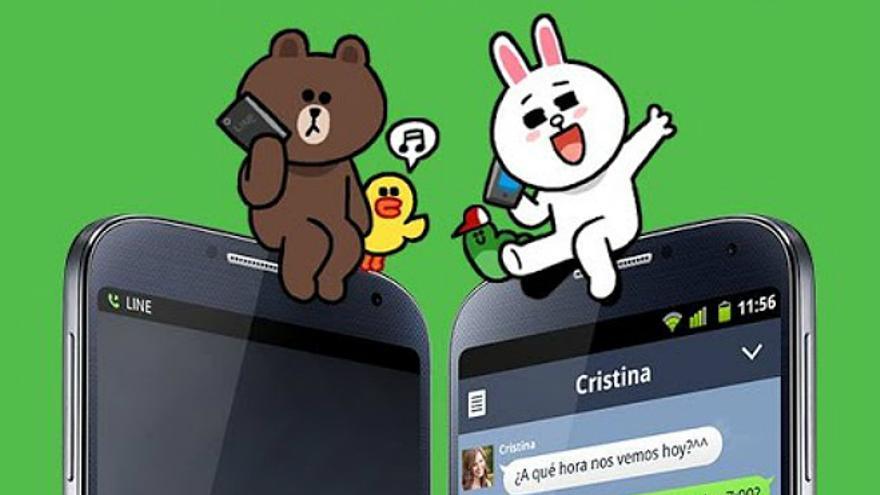 La firma nipona se ha adelantado a las novedades que hace poco anuncio WhatsApp (Foto: Line | Google Play)