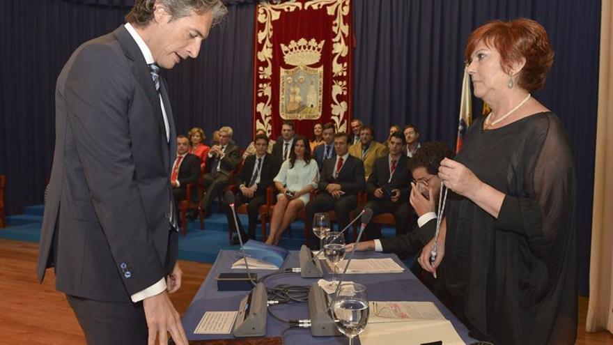 Iñigo De la Serna en el Pleno del Ayuntamiento de Santander