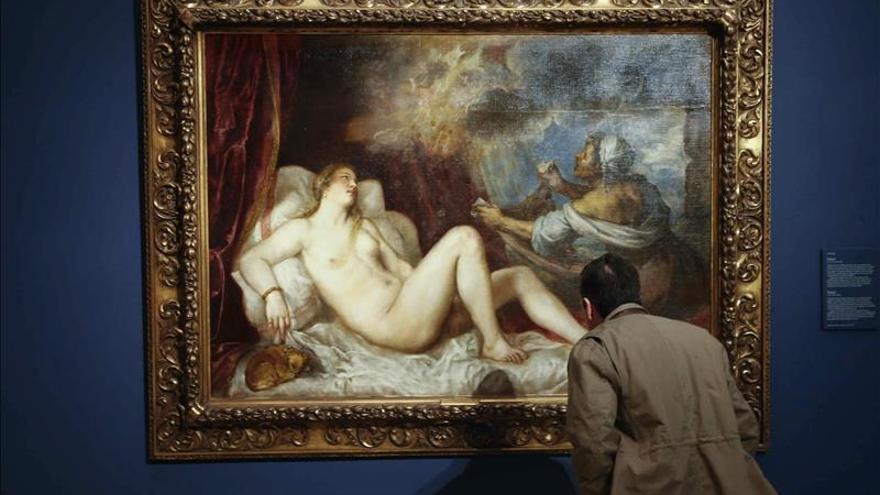 """El Museo del Prado restaura dos de las seis """"Poesías"""" de Tiziano"""