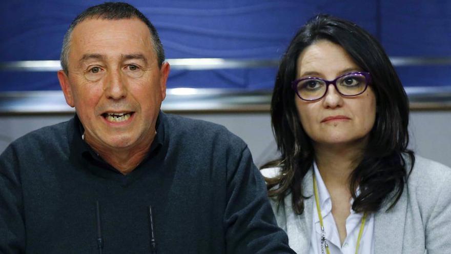 Joan Baldoví y Mónica Oltra se han pronunciado en contra de las intervenciones