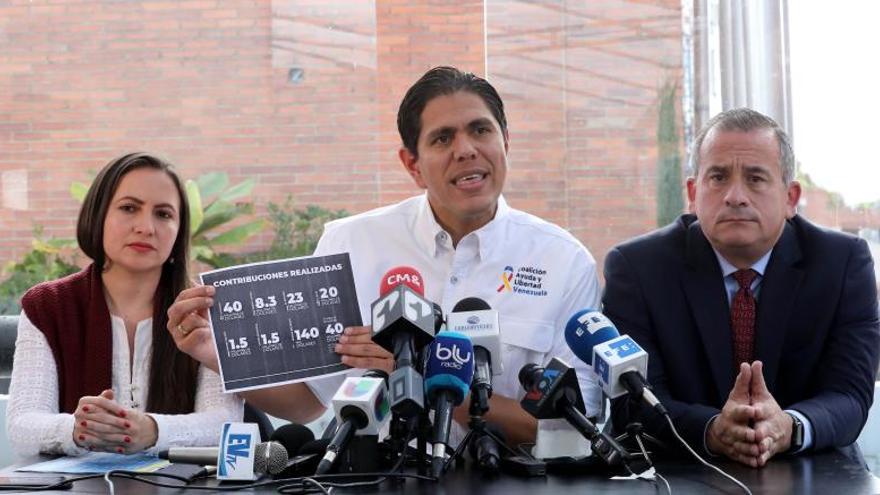 La Fiscalía colombiana investigará presunta corrupción de delegados de Guaidó