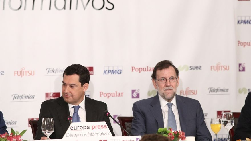 Rajoy, Santamaría, Maillo y Arenas arropan a Moreno en su congreso en un momento clave por la candidatura de Susana Díaz