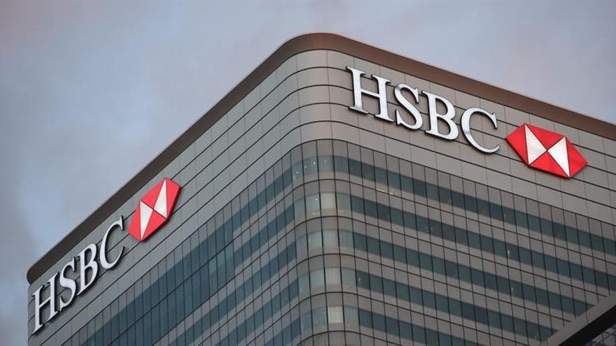 El HSBC sufre una caída del 89,67 % en sus beneficios de 2016