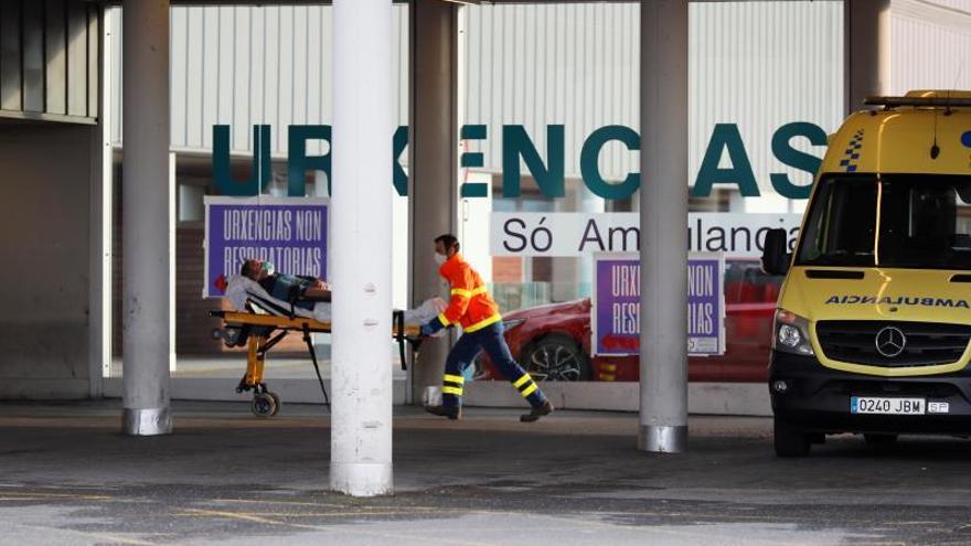 Urgencias del hospital de Lugo