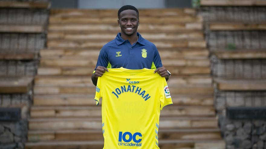 Jonathan Silva, preparado para debutar con la UD Las Palmas