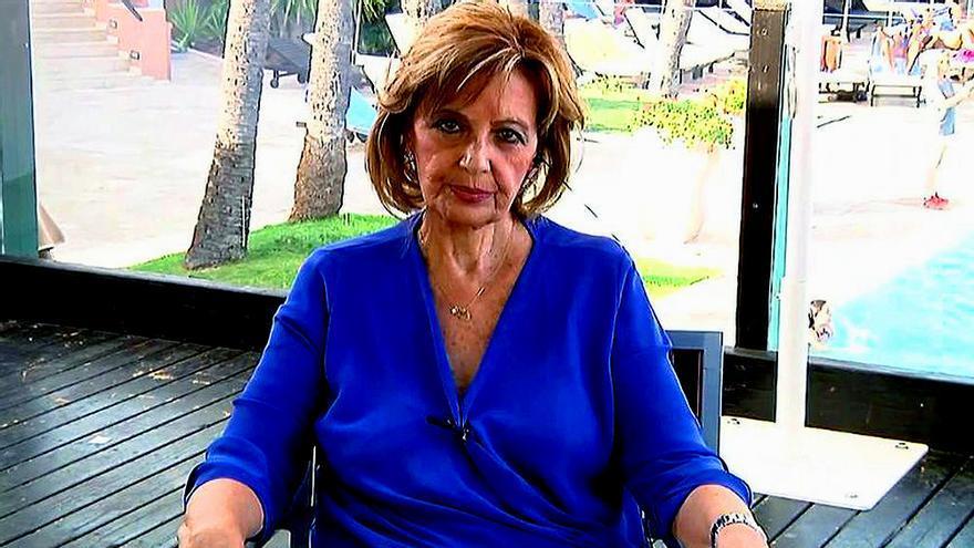 """María Teresa Campos en """"Sálvame"""""""