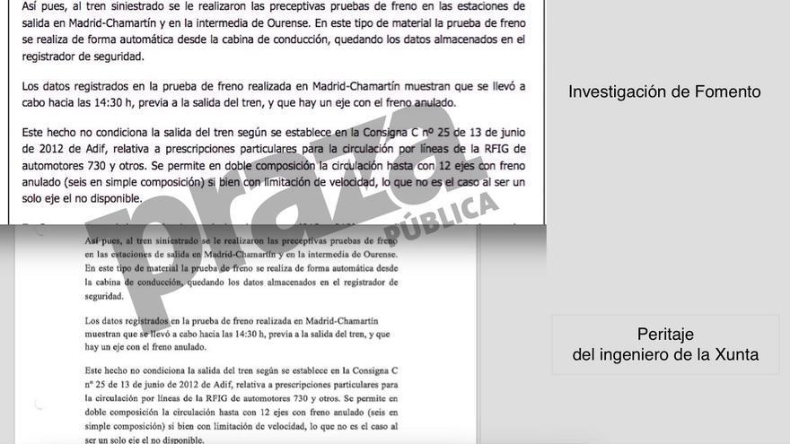 Peritaje judicial de un ingeniero de la Xunta plagiado de la investigación de Fomento criticada por la UE