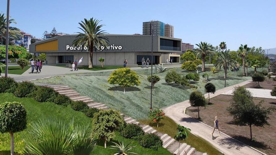 Proyecto de pabellón deportivo en La Ballena.