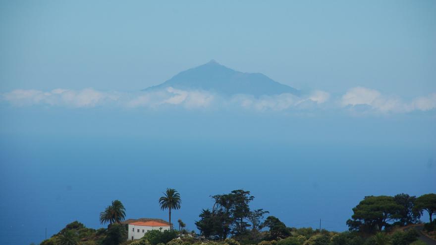 Temperaturas en ligero a moderado descenso este martes en La Palma