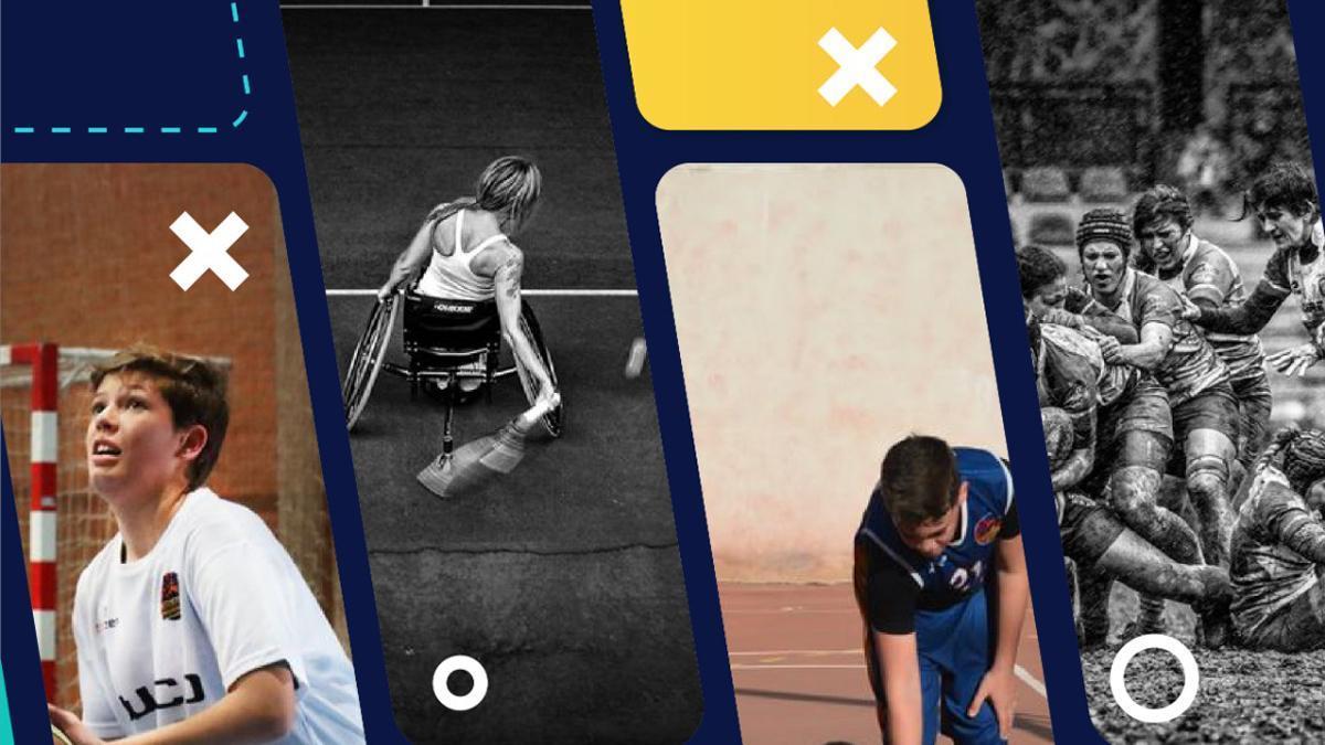 Cartel del tercer Concurso de Fotografía Deportiva del Ciudad de Córdoba