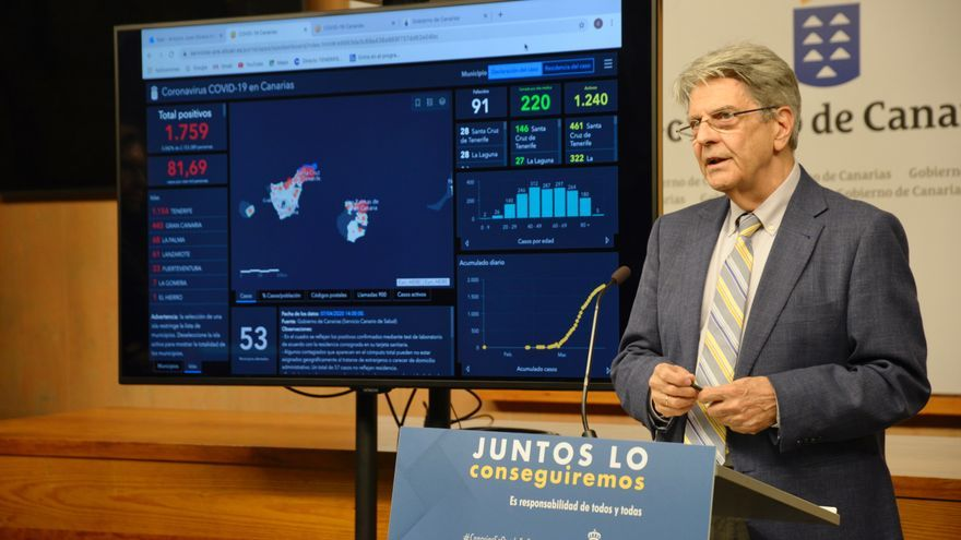 Julio Pérez en la presentación de la nueva herramienta.