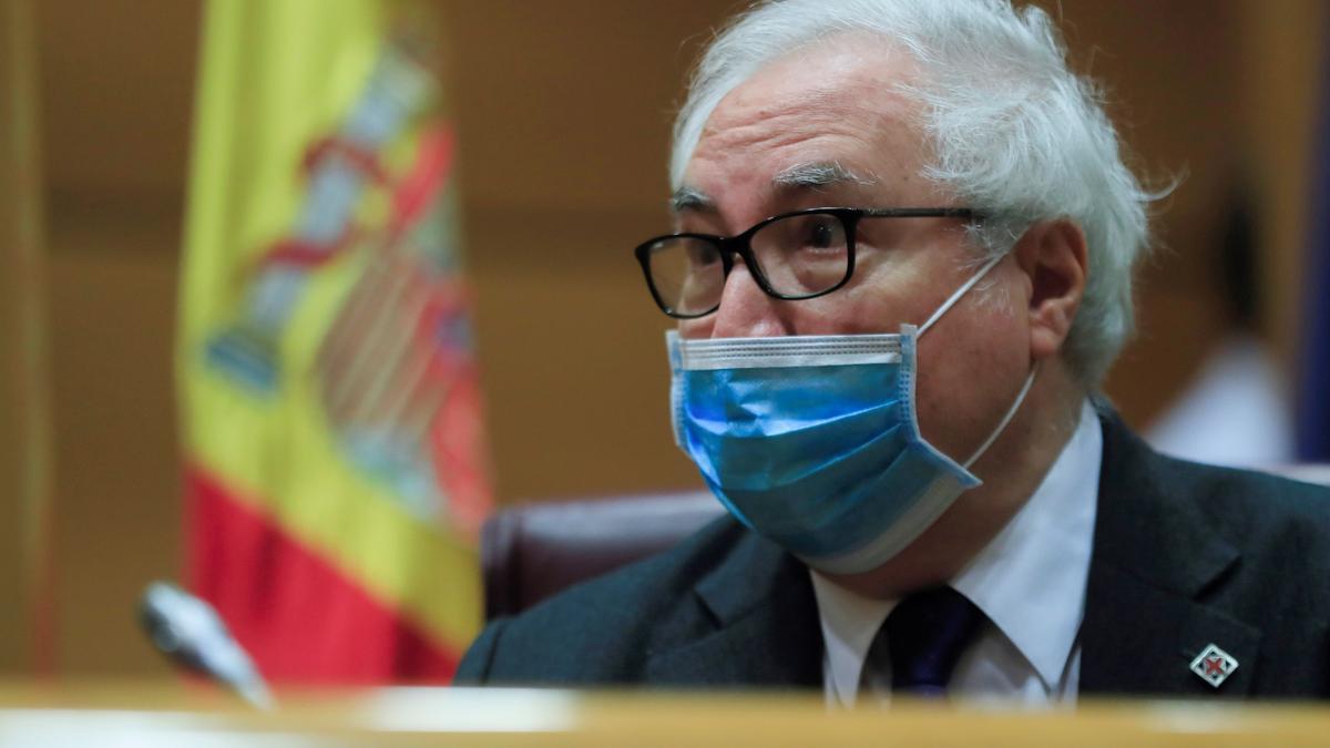 El ministro de Universidades, Manuel Castells. EFE/Fernando Alvarado/Archivo