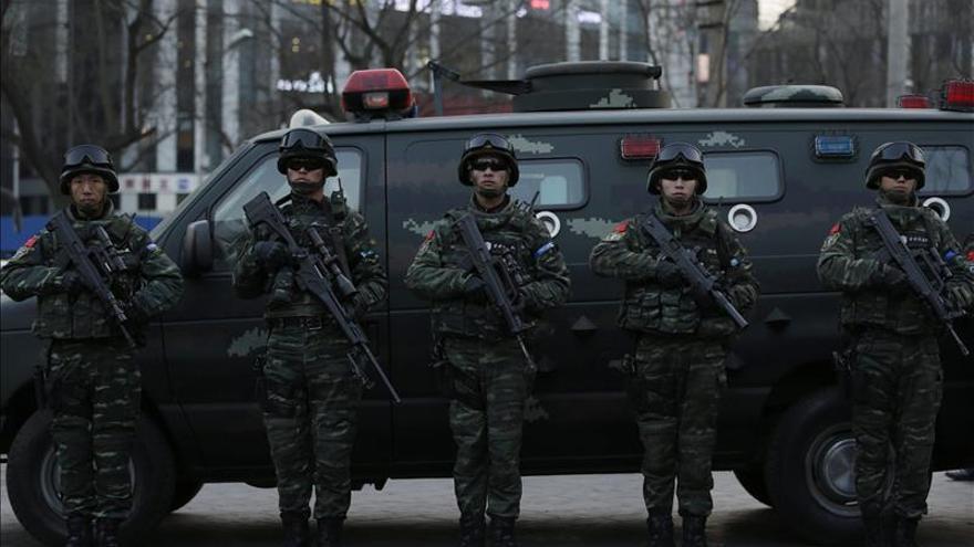 """Nueve detenidos en China por difundir """"rumores"""" sobre terrorismo"""