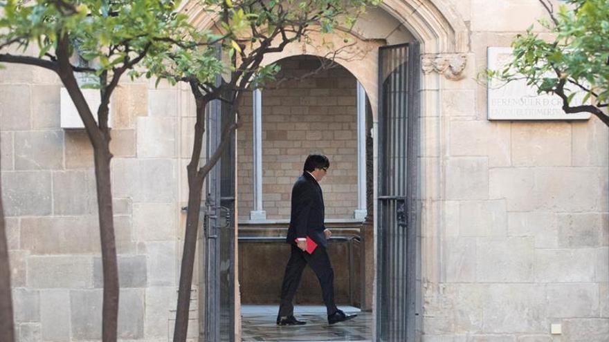 La Generalitat renuncia a presentar alegaciones al 155