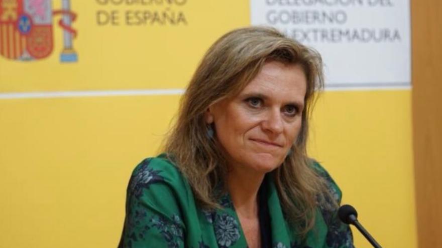 La delegada del Gobierno en Extremadura, Yolanda García Seco