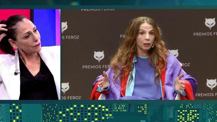 María Barranco, ante las declaraciones de Victoria Abril en el 'Deluxe'