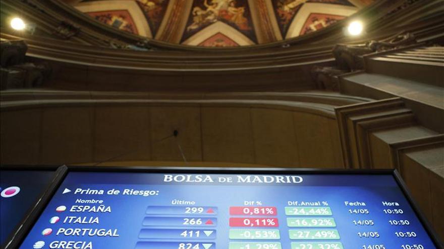 El IBEX acusa la debilidad de Francia y Alemania y cae el 0,20 por ciento