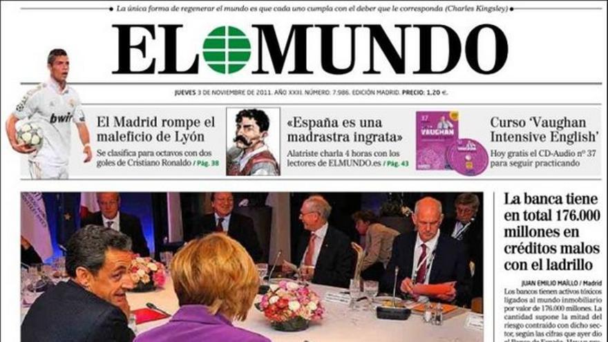 De las portadas del día (03/11/2011) #8