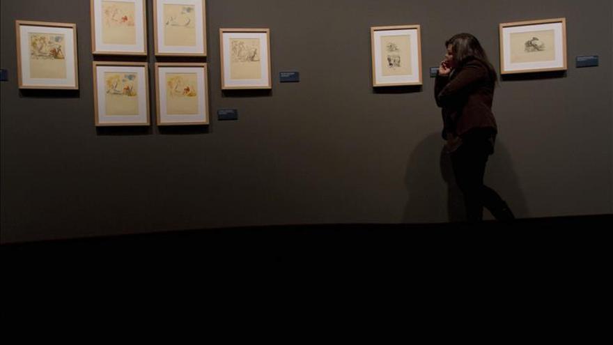 Una muestra recoge en Vigo la faceta del Dalí ilustrador de obras literarias