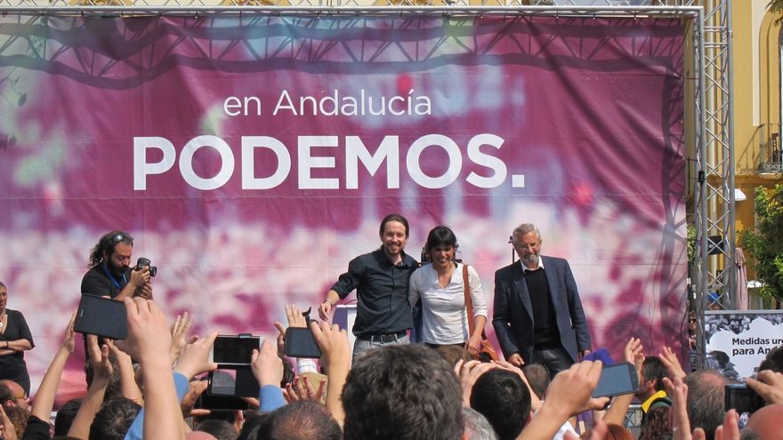 """Rodríguez (Podemos):""""No se puede consentir que Andalucía sea historia de impulso frustrado por malos gobiernos"""""""