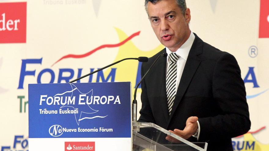 """Urkullu dice que Euskadi debe seguir su """"vía"""" profundizando el autogobierno"""