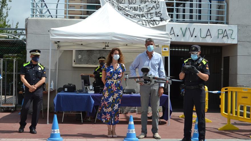 Albiol se erige en el alcalde de la mano dura en los primeros 100 días al frente de Badalona