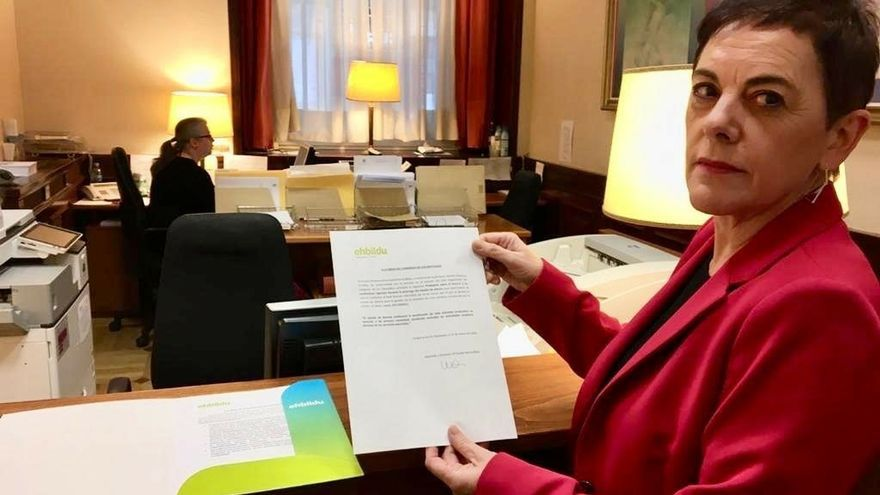 EH Bildu se abstendrá en la prórroga del Estado de Alarma si no hay cierre total de actividad productiva