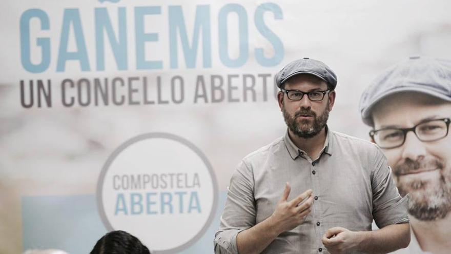 Martiño Noriega, candidato de Compostela Aberta