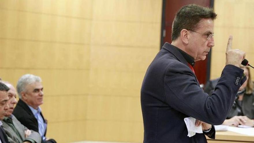 José Alberto González Reverón, en el juicio caso Arona 1, en enero pasado