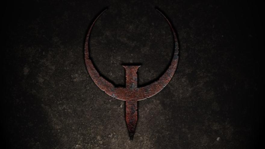Logo de Quake, por John Oldner