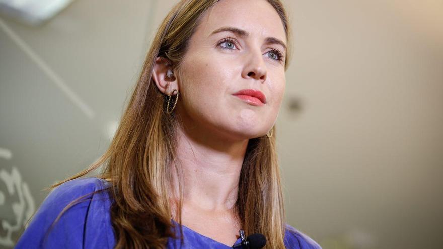 Melisa Rodríguez, portavoz adjunta del Grupo Parlamentario Ciudadanos (GPC's) en el Congreso y diputada nacional por la provincia de Santa Cruz de Tenerife.